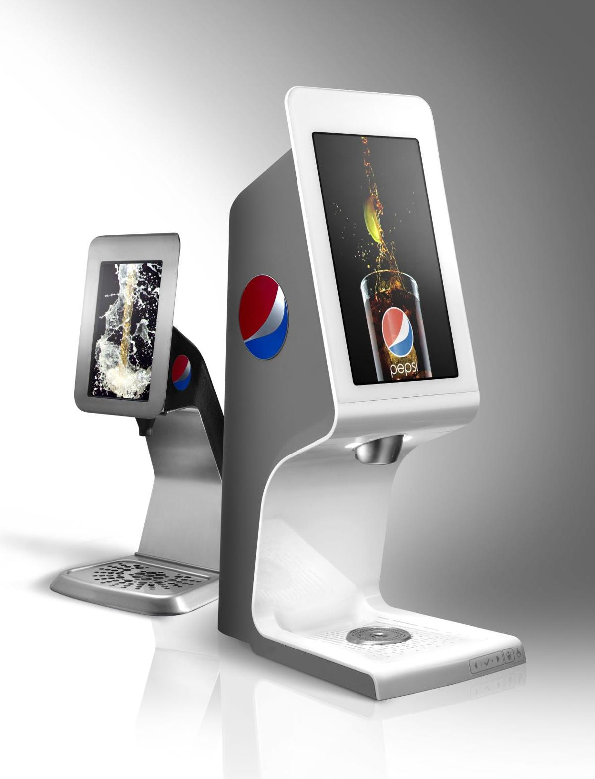 Strawberry Pepsi? New fountain machine in test