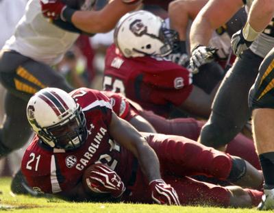 South Carolina rolls over Missouri 31-10 to improve to 4-0