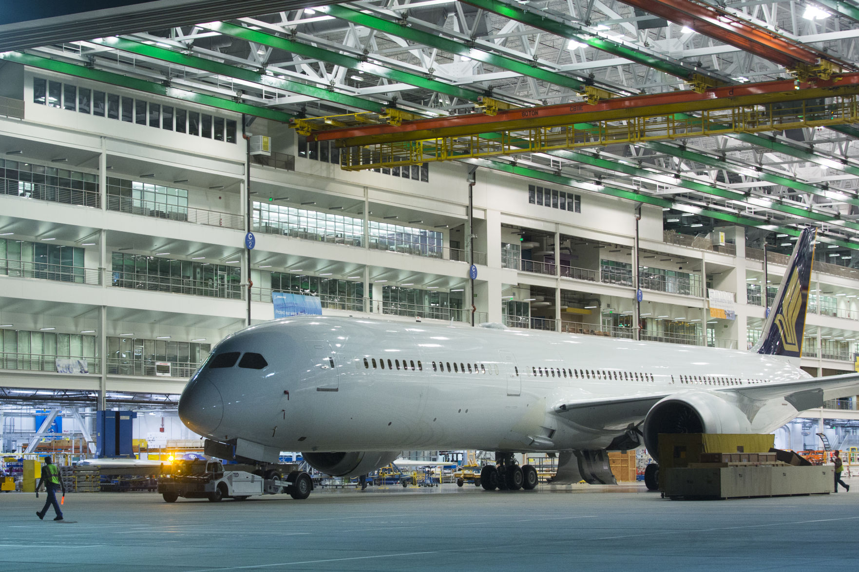 SIA set to receive first Boeing 787-10 in 2018
