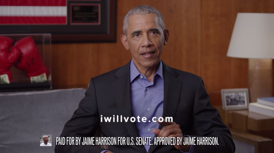 Obama tapes new ad for Harrison while Haley, Scott tout Graham in SC Senate race
