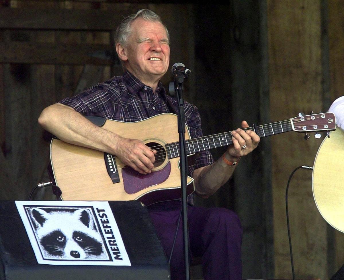 Folk musician Doc Watson dies in NC hospital at 89