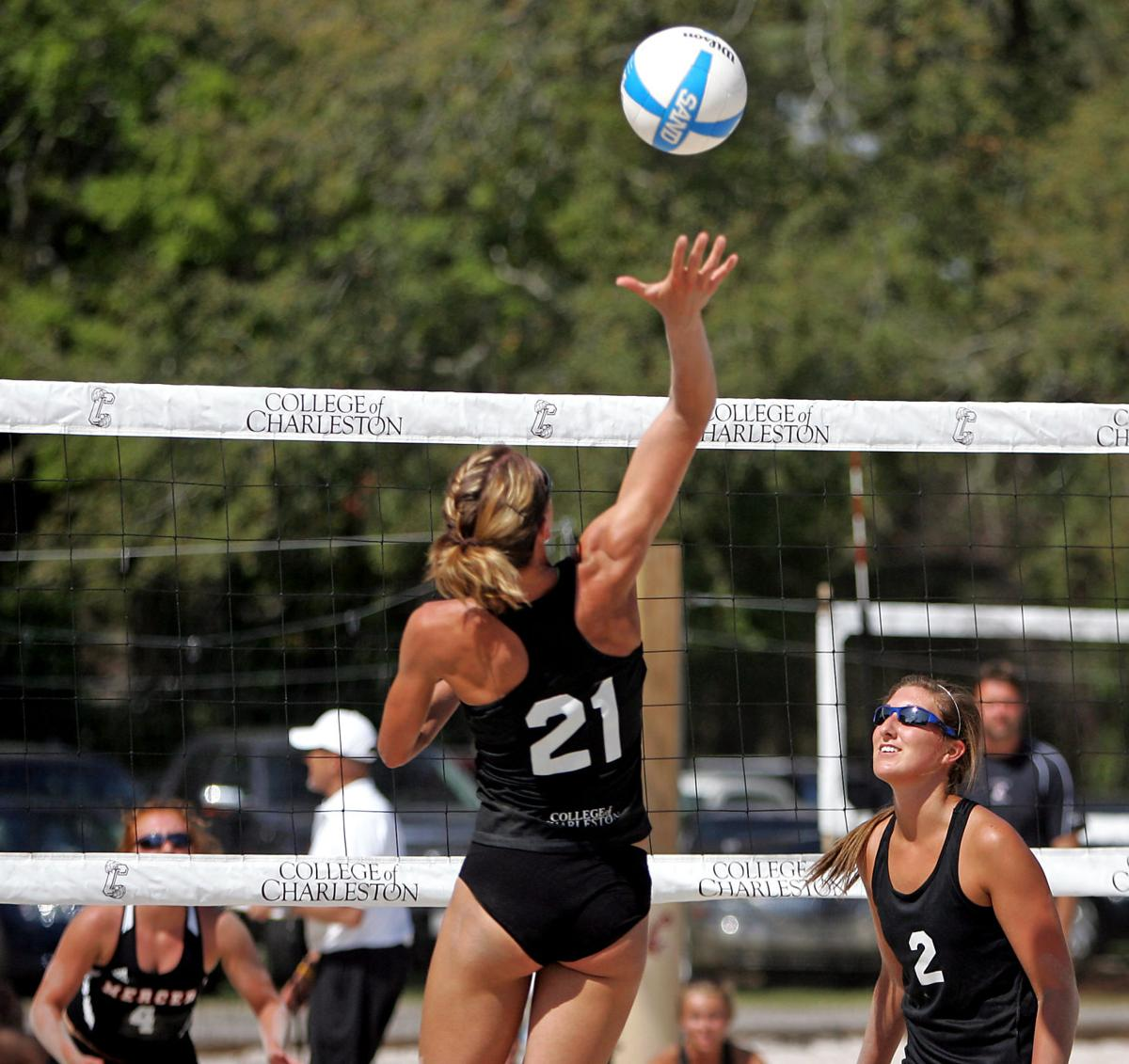College of Charleston opens sand volleyball season with weekend tournament