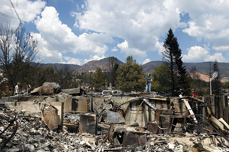 'Unreal': Residents tour Colorado blaze devastation