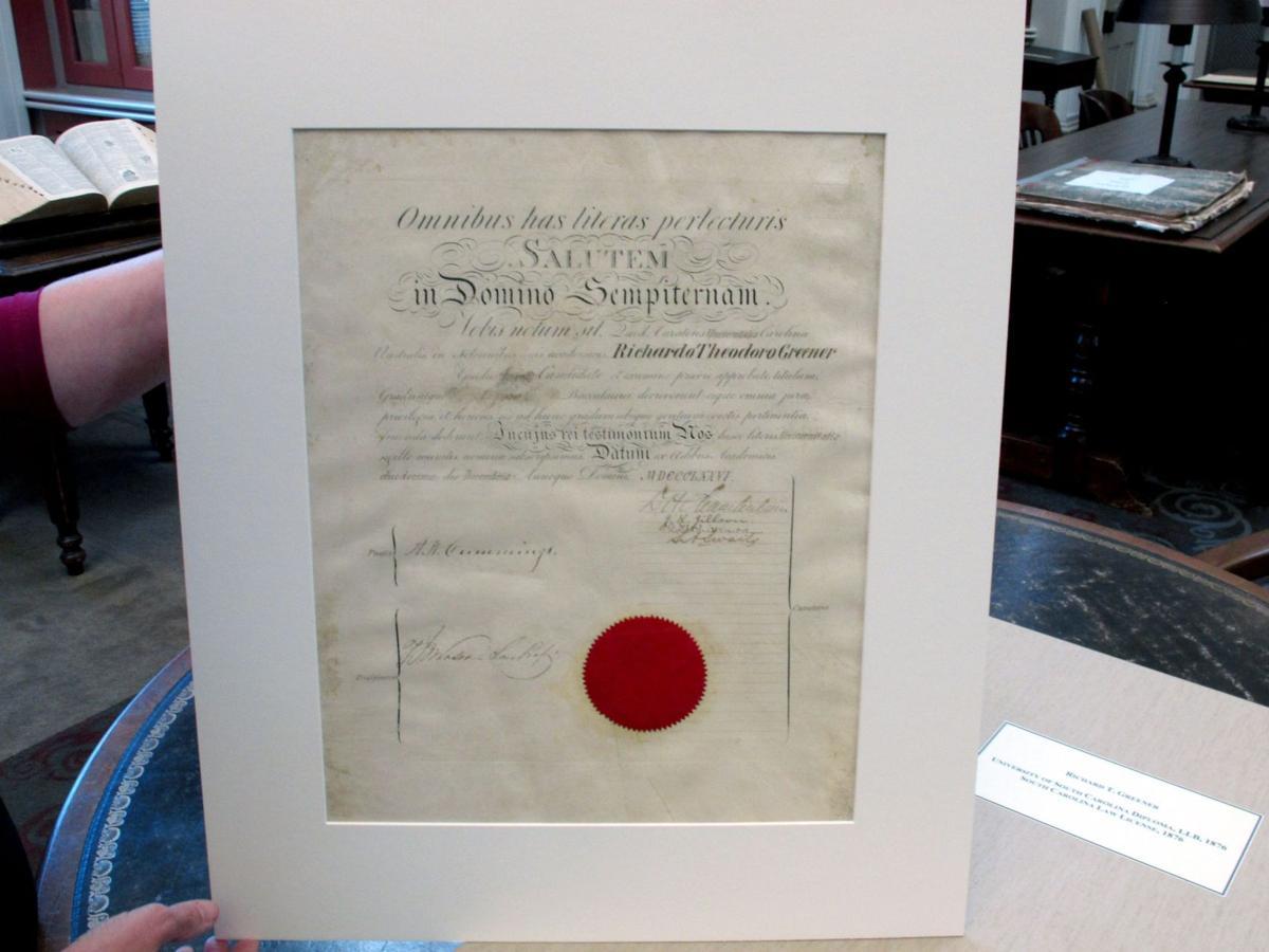 Black scholar's post-Civil War diploma survives