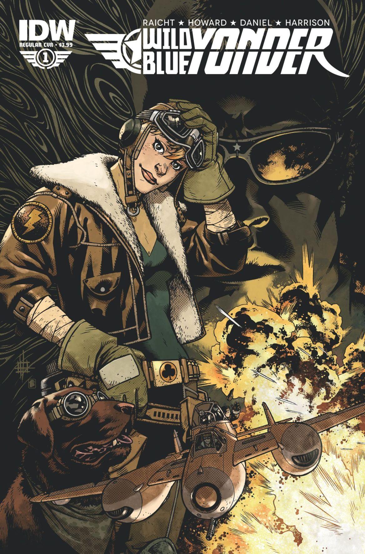 Comic book series has sky pirates, adventure