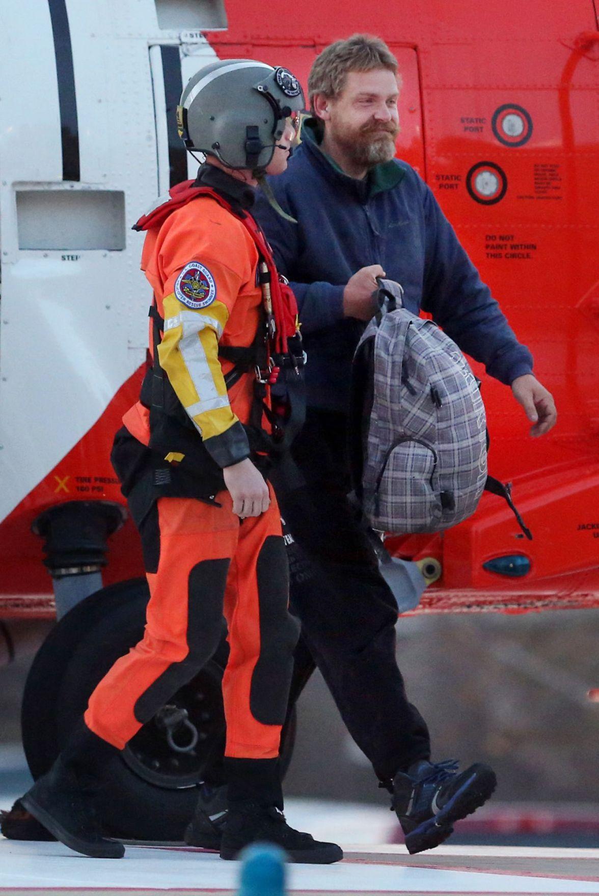 Sailor says food rationing, shelter helped him survive