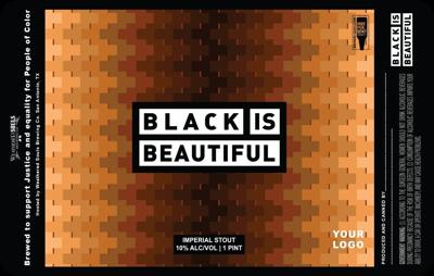 It is a picture of Persnickety Black Label Beer Price Tops