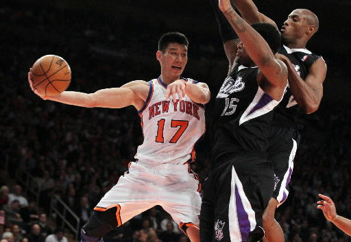 Asian-Americans rejoice as Lin smashes stereotypes