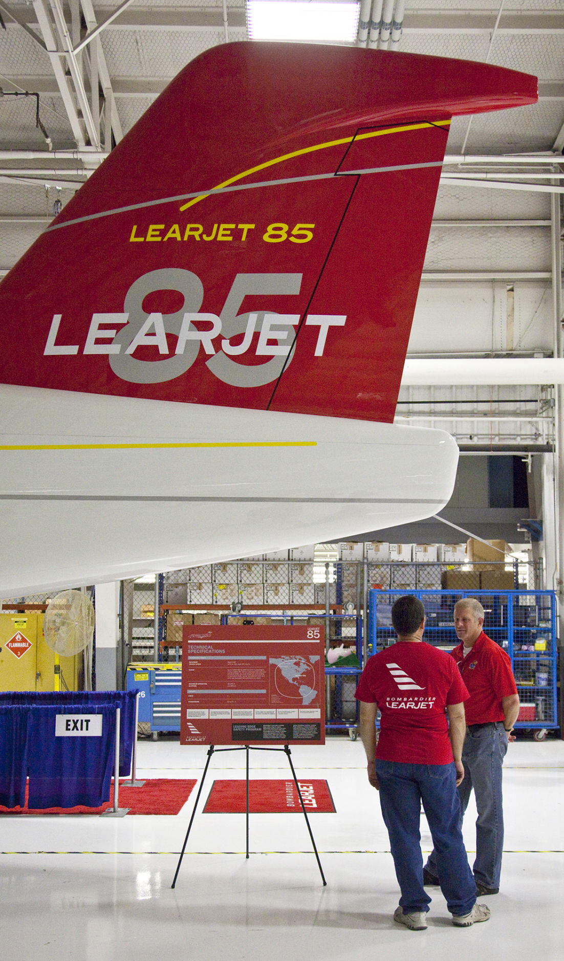 Bombardier Learjet machinists strike Kansas plant
