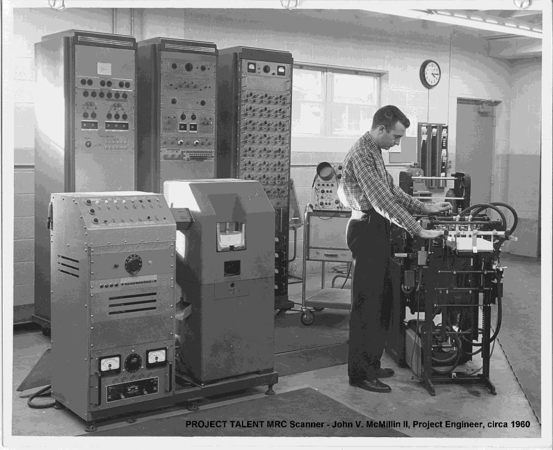 A 60 Year Old Survey Of High School Students Could Shed Light On Wiring Jobs Sc Original Project Talent Scoring Machine