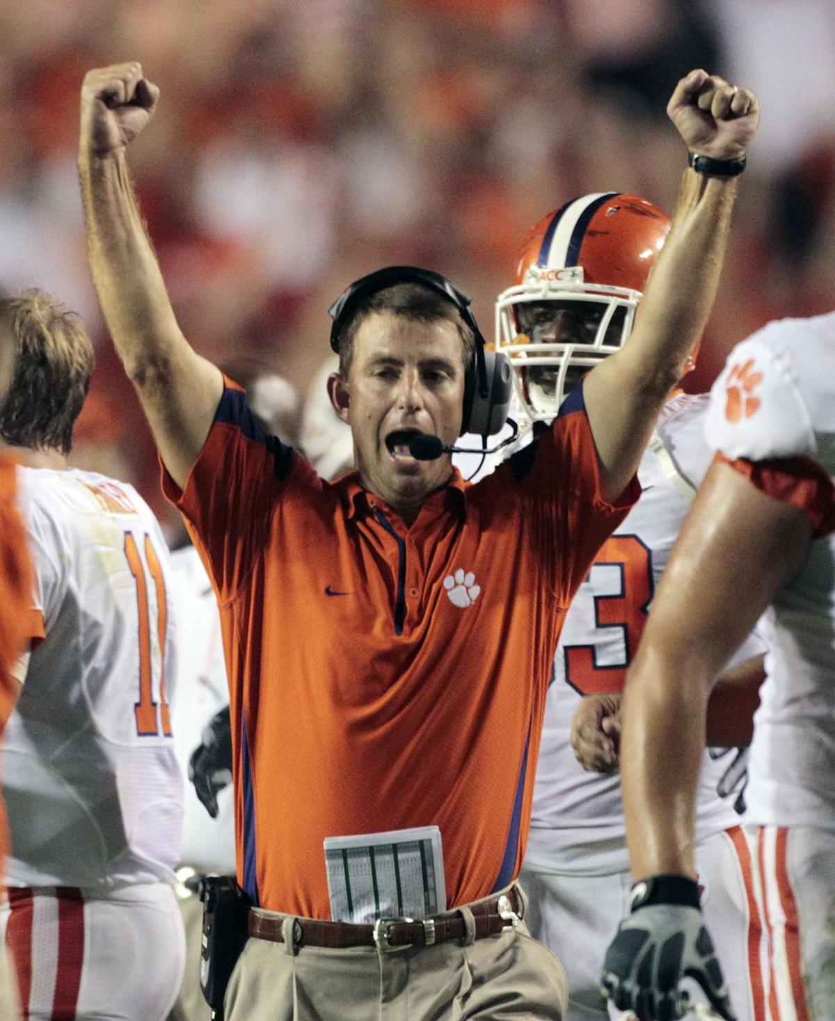 Clemson already loading up football recruits for 2016