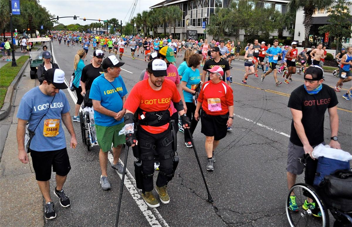 Gorlitsky embarks on his epic first Bridge Run, 2016