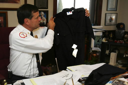 Fire Department chooses uniform