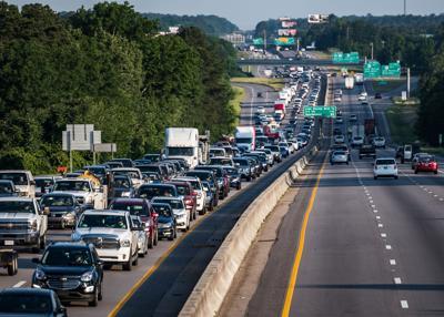 JUMP Morning traffic into Columbia (copy)