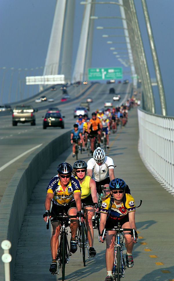 Bike lane for Legare Bridge gets farther and farther away