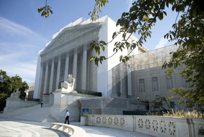 Roe v. Wade looms over gay marriage cases