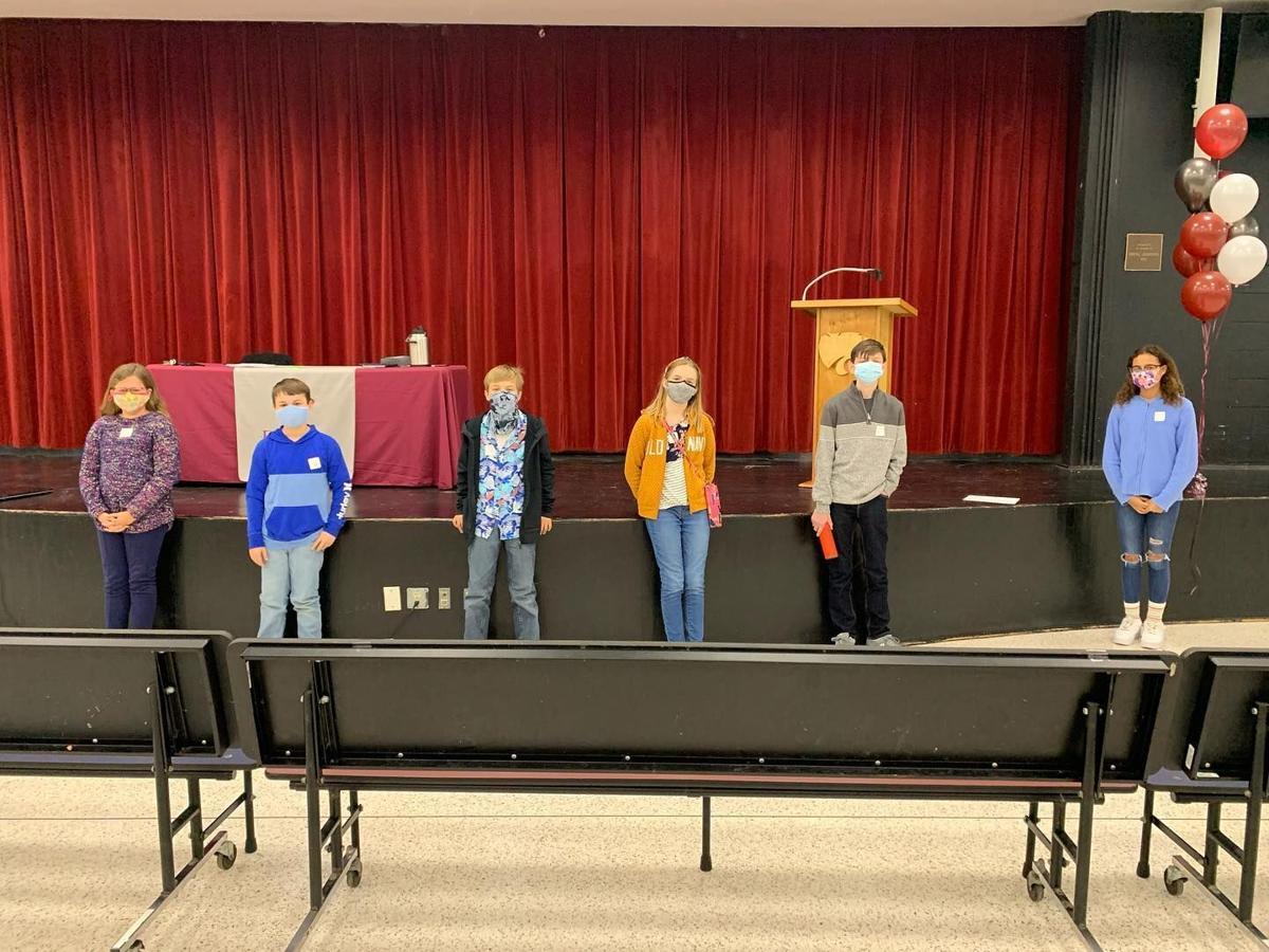 Winners announced in DuBose Middle School Spelling Bee