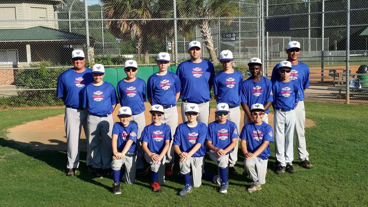 James Island 12U All-Stars third
