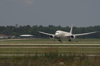 Boeing's first S.C.-made 787 takes its maiden voyage
