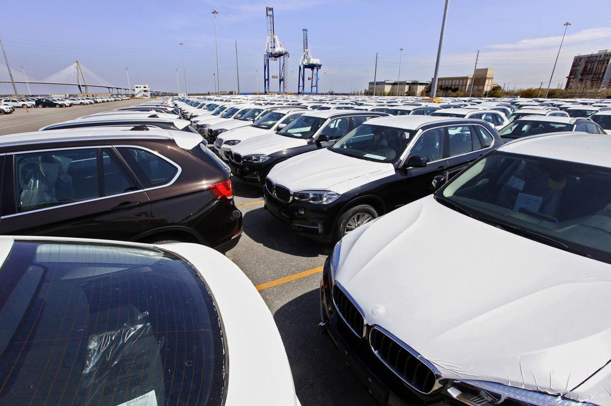 BMW steers record $9.8B in autos to port Upstate plant is top U.S. exporter, big partner with Charleston's port