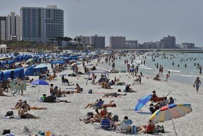 APTOPIX Virus Outbreak Florida Beaches