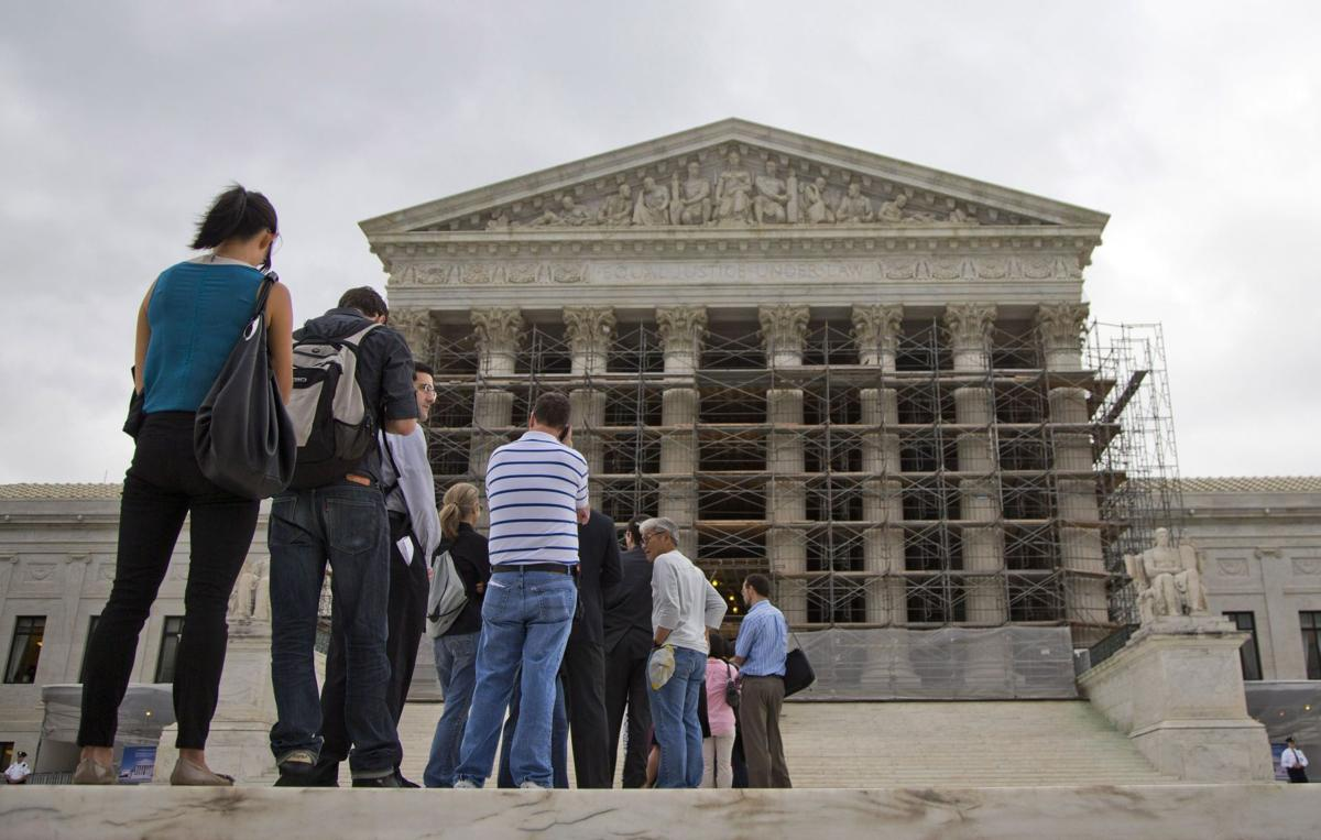 U.S. Supreme Court tackling caps on campaign contributions