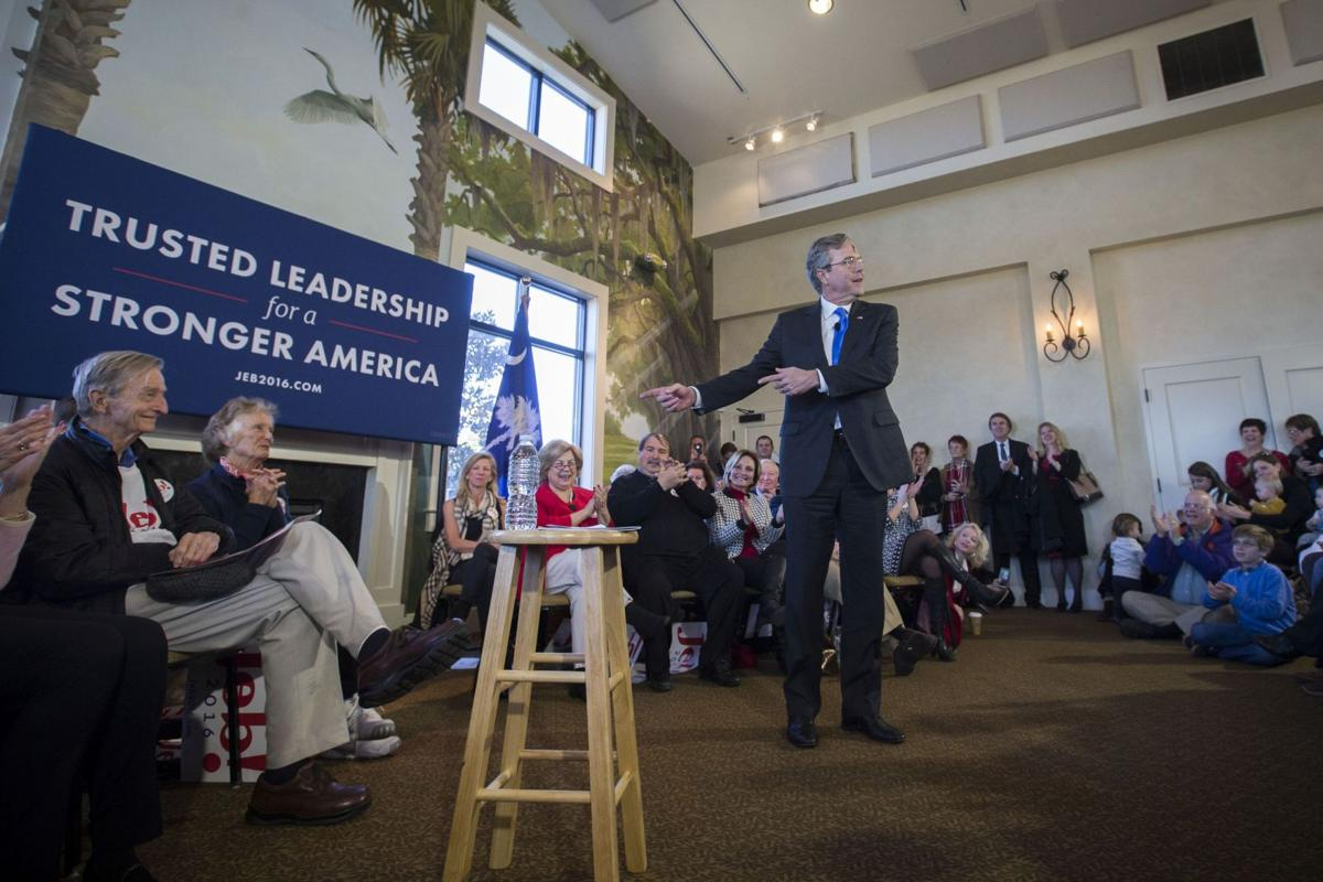Make the top GOP three in S.C. or bust?