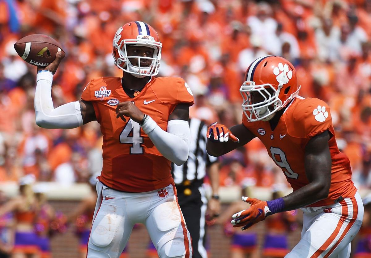 Back in business: Clemson races past Wofford, 49-10, in opener
