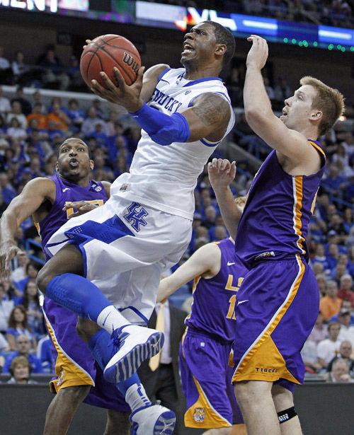 Kentucky survives SEC scare