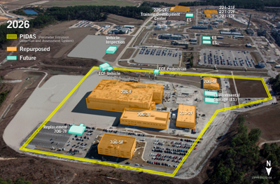 SRPPF Proposed Layout, Pits Study