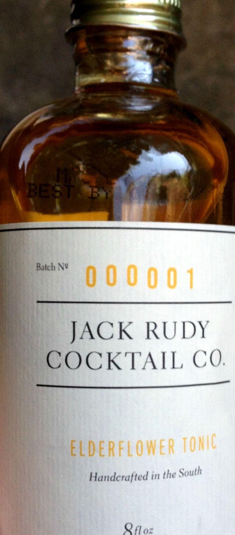 Jack Rudy Cocktail Co. releases elderflower tonic