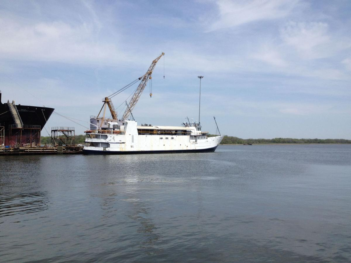 Abandoned casino ship sells for $100,000