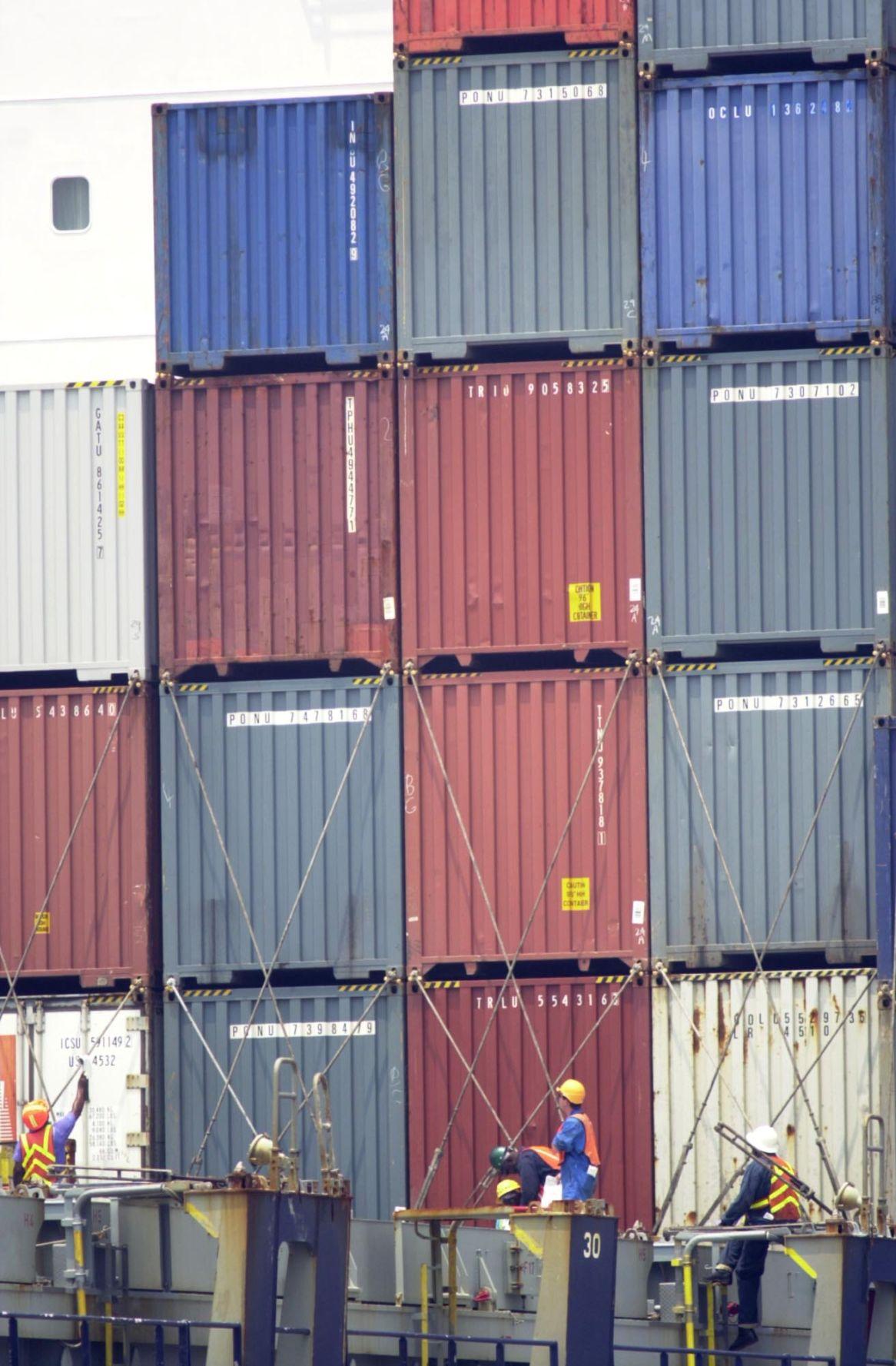Port of Charleston cargo record