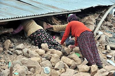 More quakes? No, more people