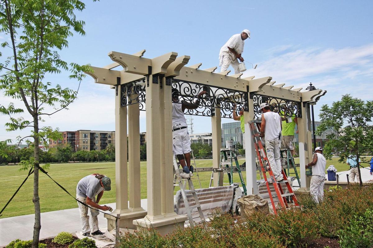 City's newest park has plenty of perks