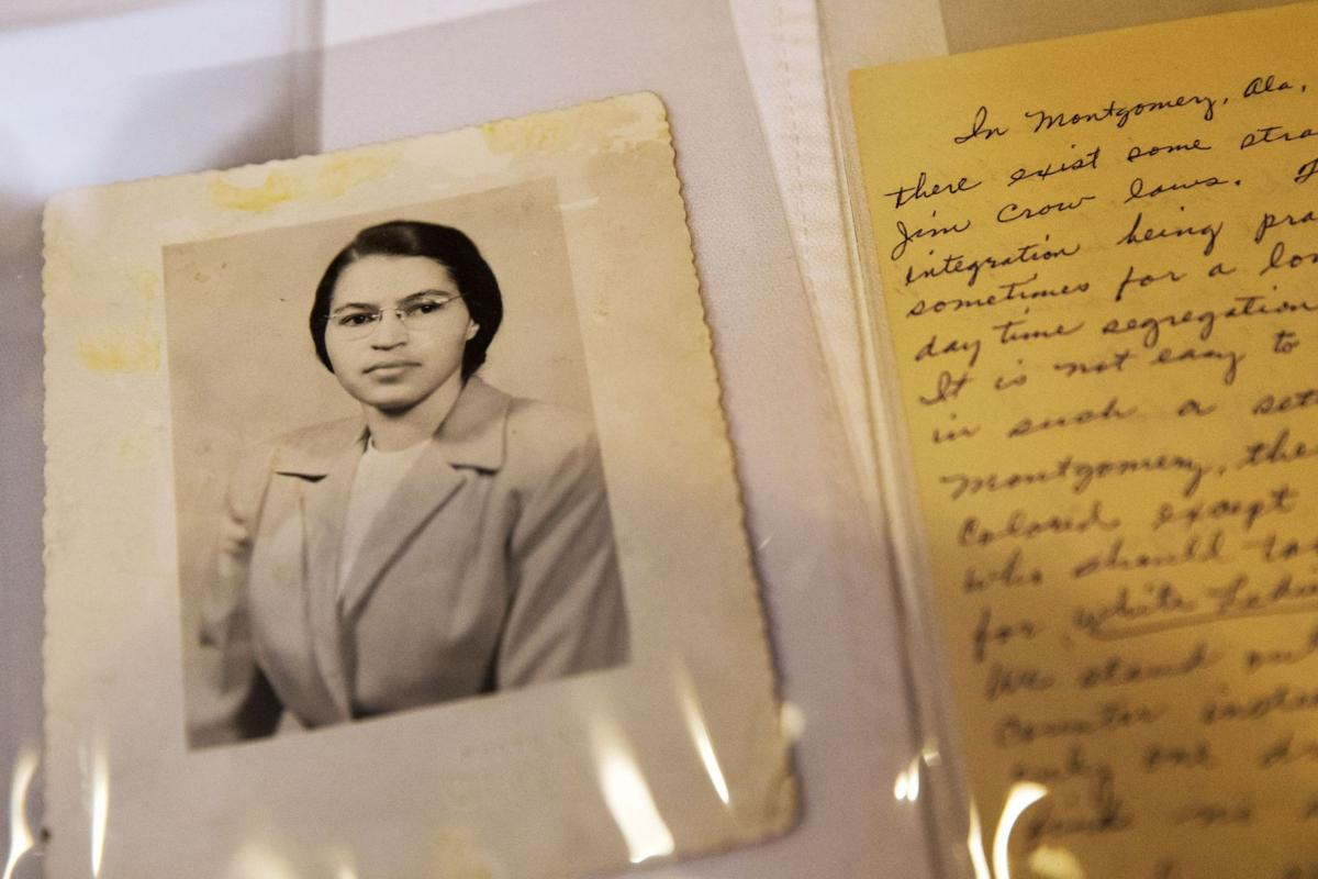 Rosa Parks' archive at Library of Congress