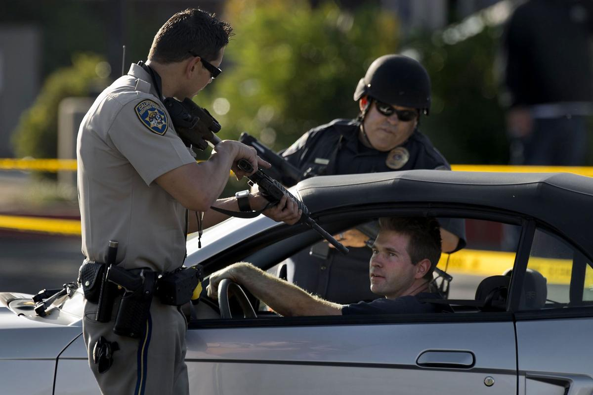Four officers injured in Northern California standoff, suspect in custody