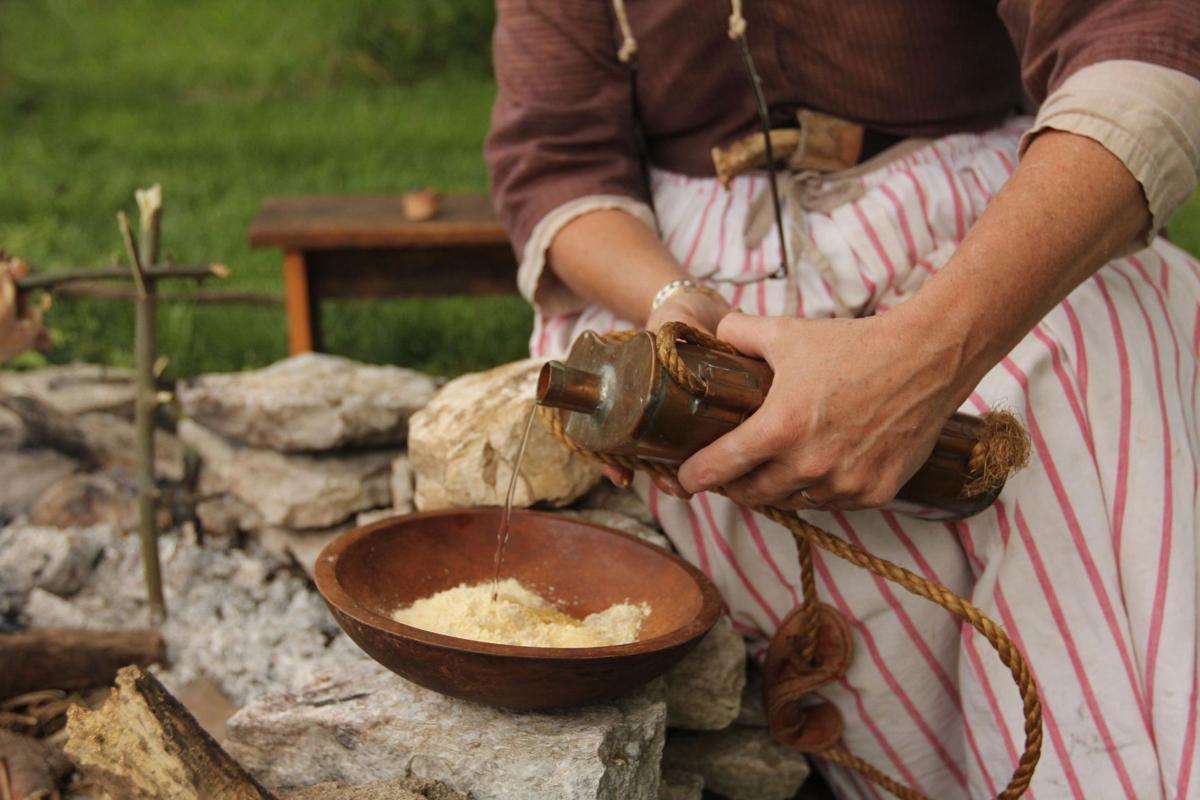 Re-enactors share frontier women's lives