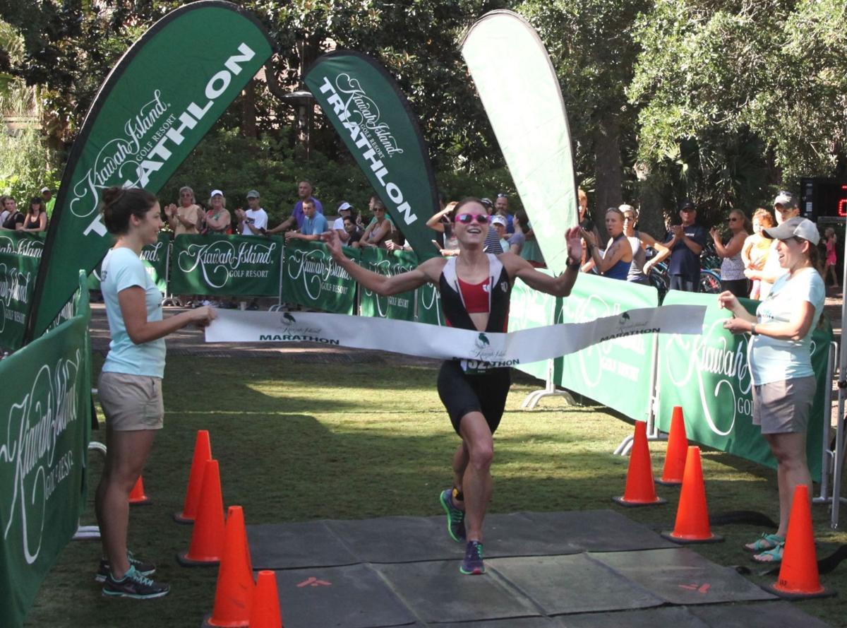 Summerville mom wins Kiawah Island triathlon
