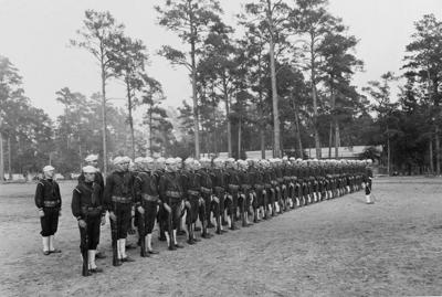 NH 116427 Recruits at Attention Dec 1918-wwi.jpg (copy)