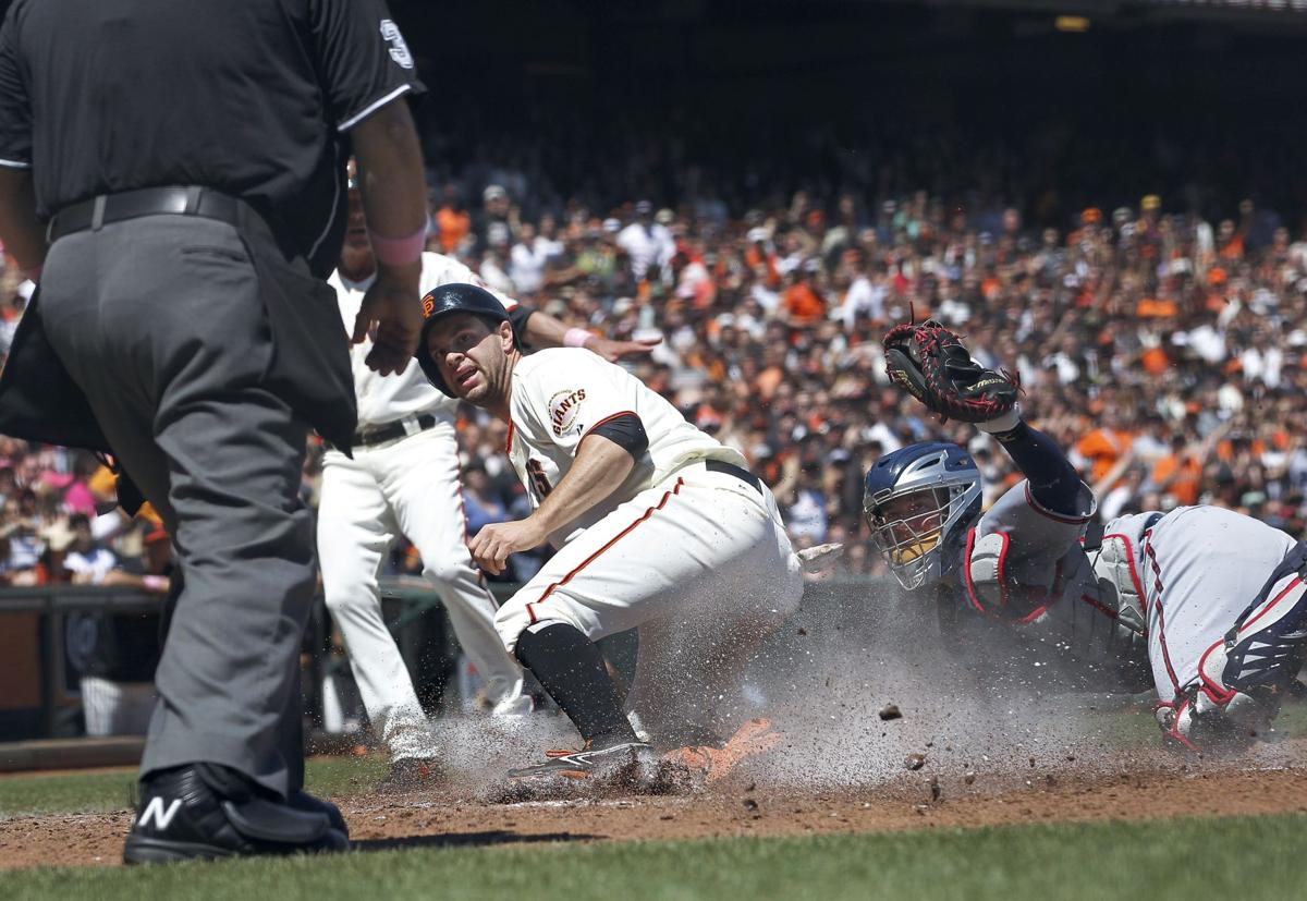 Braves drop third straight to Giants