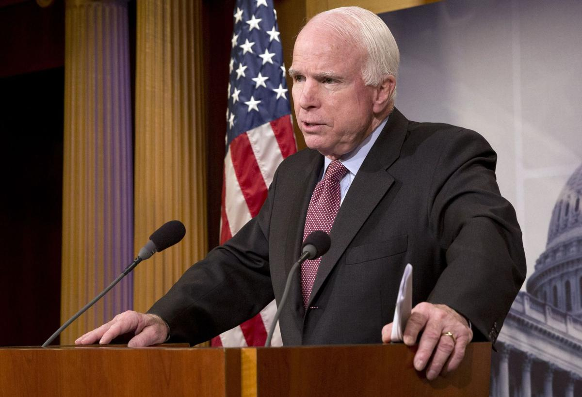McCain wants his 'illegitimate son' Lindsey Graham to run for president