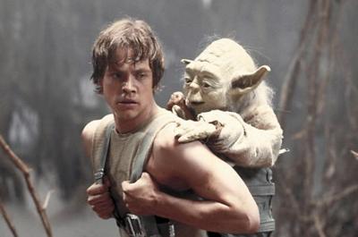 Luke and Yoda Empire Strikes Back (copy)