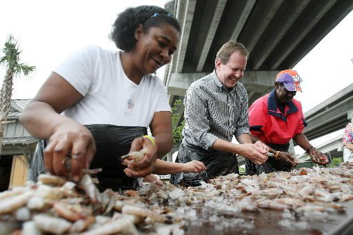 Shrimpers show off at 'Meet the Fleet' event