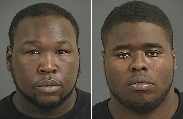 2 charged following car chase