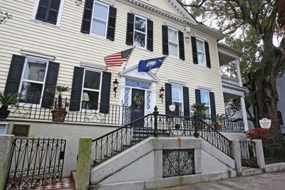 Historic home converted to downtown Charleston inn is sold