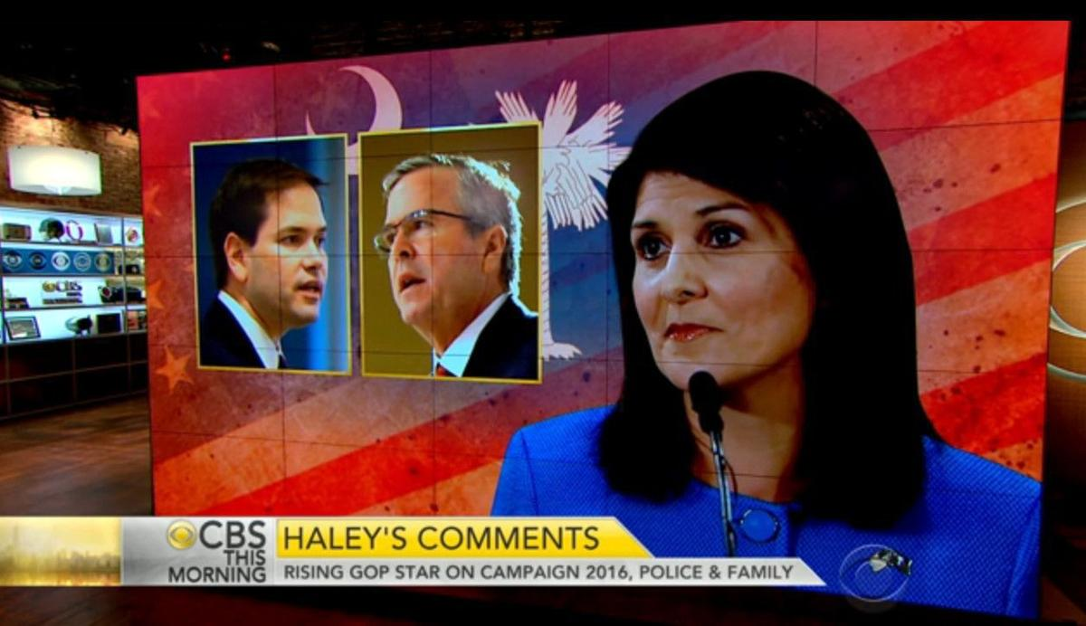 'This Morning' co-host questions Haley on Clinton, 2016 race