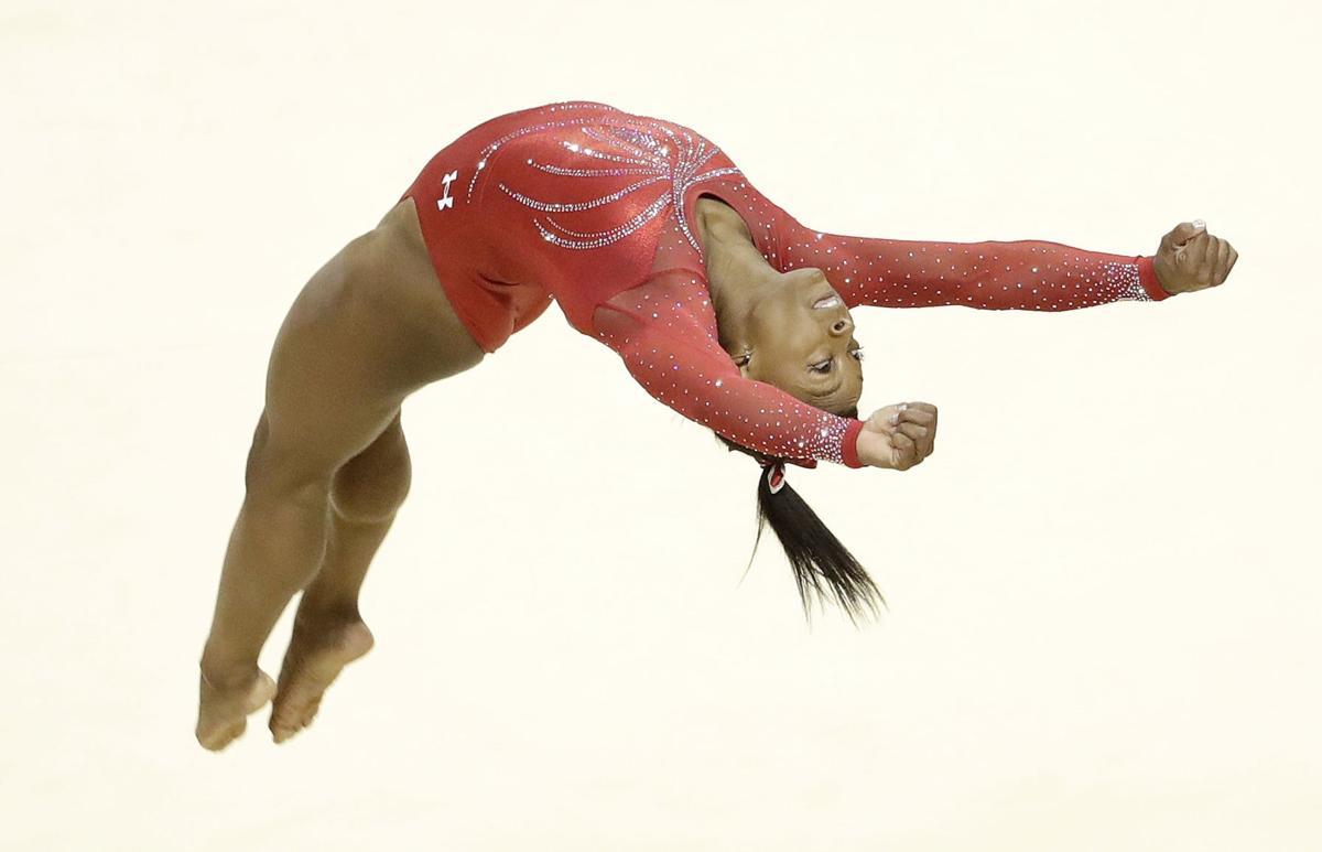 Biles, Douglas headline U.S. gymnastics team