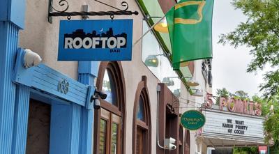 Rooftop bar in Columbia (copy)