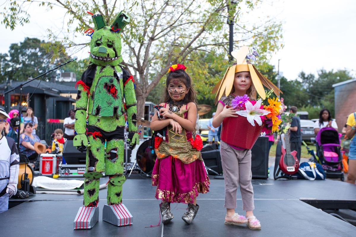 Harvest Festival kids costume contest